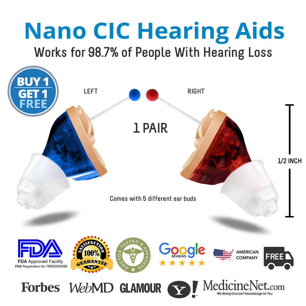 Nano Hearing Aids Reviews
