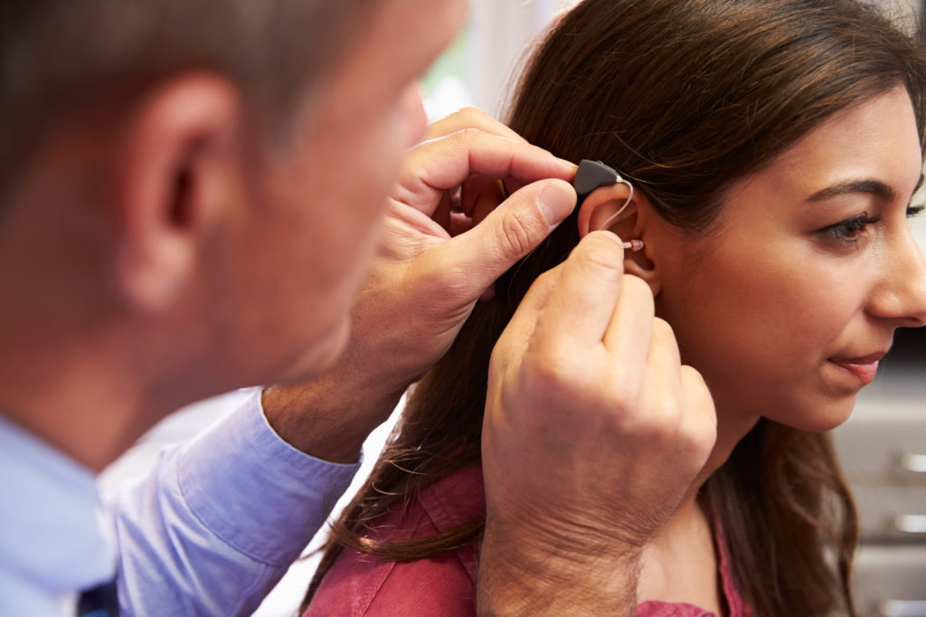benefit from a hearing aid